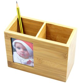 Pen Holder with Photo