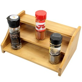Bamboo Spice Stepper Shelf