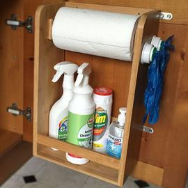 Kitchen Organiser, Paper Towels and Spice Rack