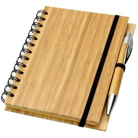 Bamboo Diary Organiser with Pen