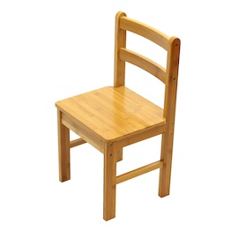 Bamboo Childrens Desk Chair