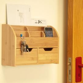 Wall-Mounted Letter Rack Key Holder