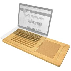 Laptop Tray with Cork Pad