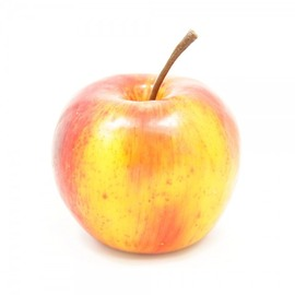 Artificial Apple, yellow-red