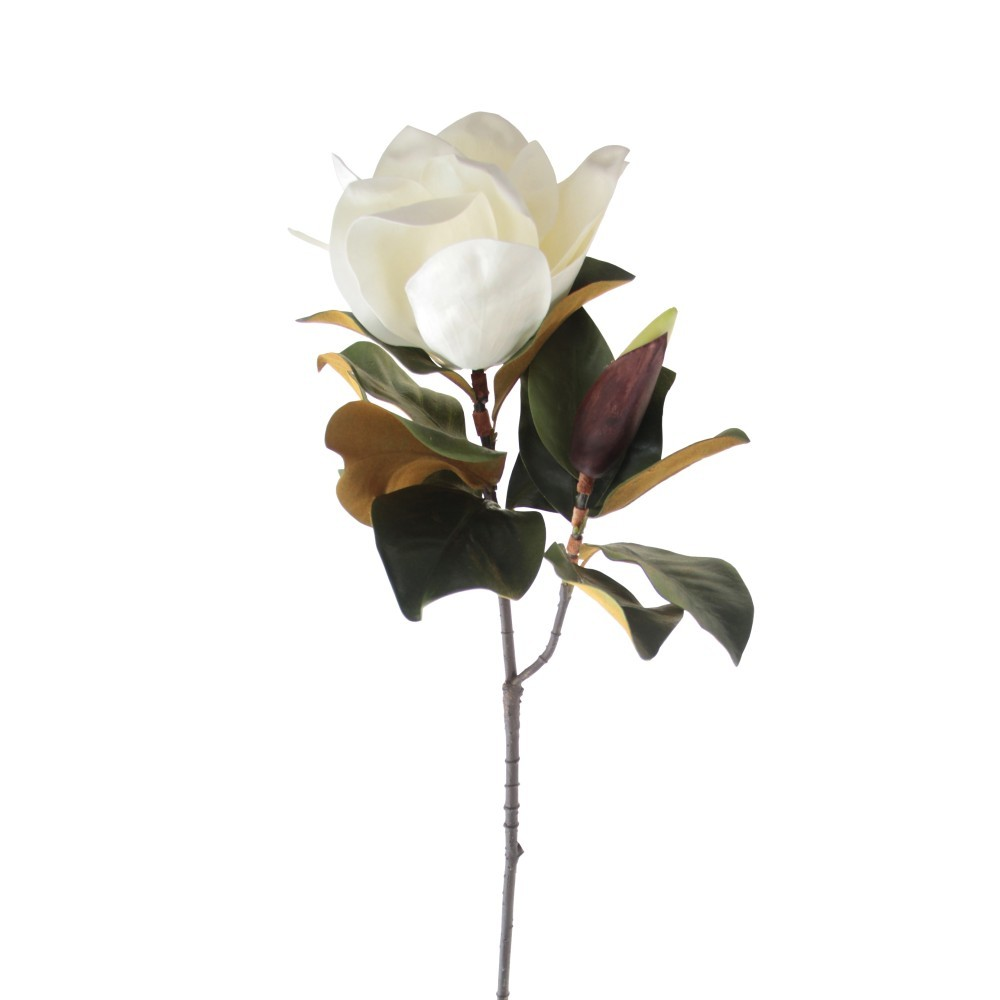 Artificial flowers the myths the materials and the advantages artificial white magnolia mightylinksfo